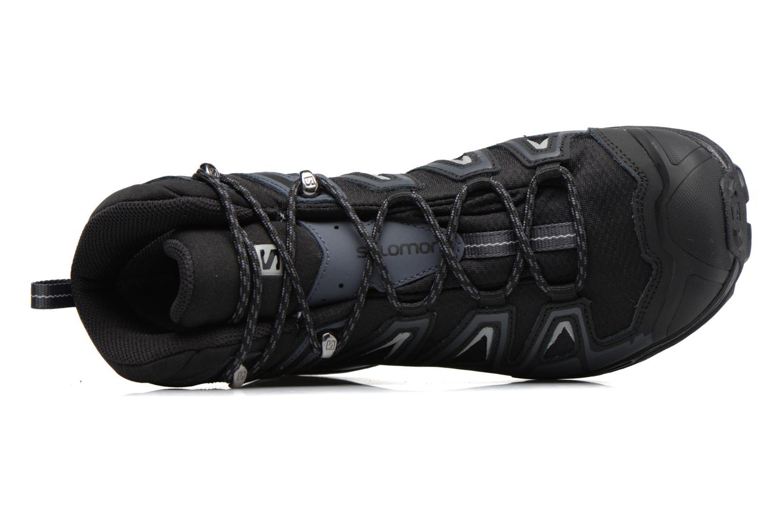 Chaussures de sport Salomon X Ultra 3 Mid Gtx Noir vue gauche
