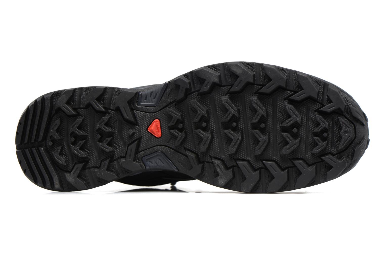 Chaussures de sport Salomon X Ultra 3 Mid Gtx Noir vue haut