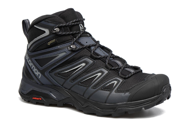 Chaussures de sport Salomon X Ultra 3 Mid Gtx Noir vue détail/paire