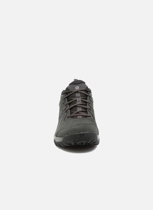 Chaussures de sport Salomon Evasion 2 Ltr Noir vue portées chaussures