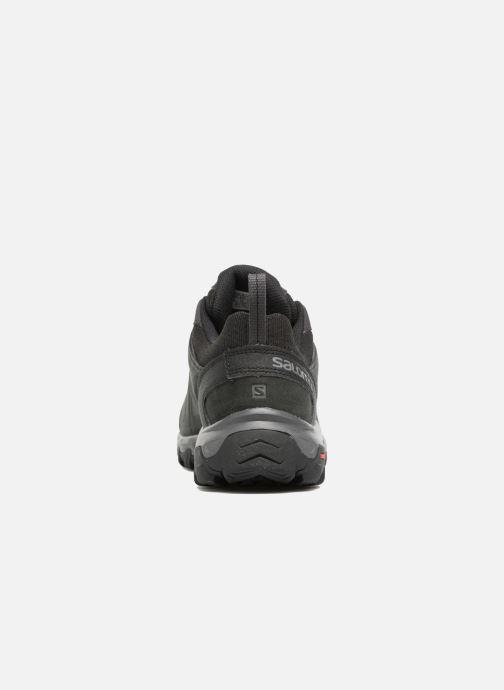 Chaussures de sport Salomon Evasion 2 Ltr Noir vue droite