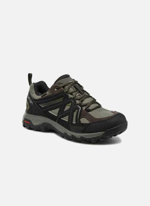 Chaussures de sport Salomon Evasion 2 Gtx Gris vue détail/paire