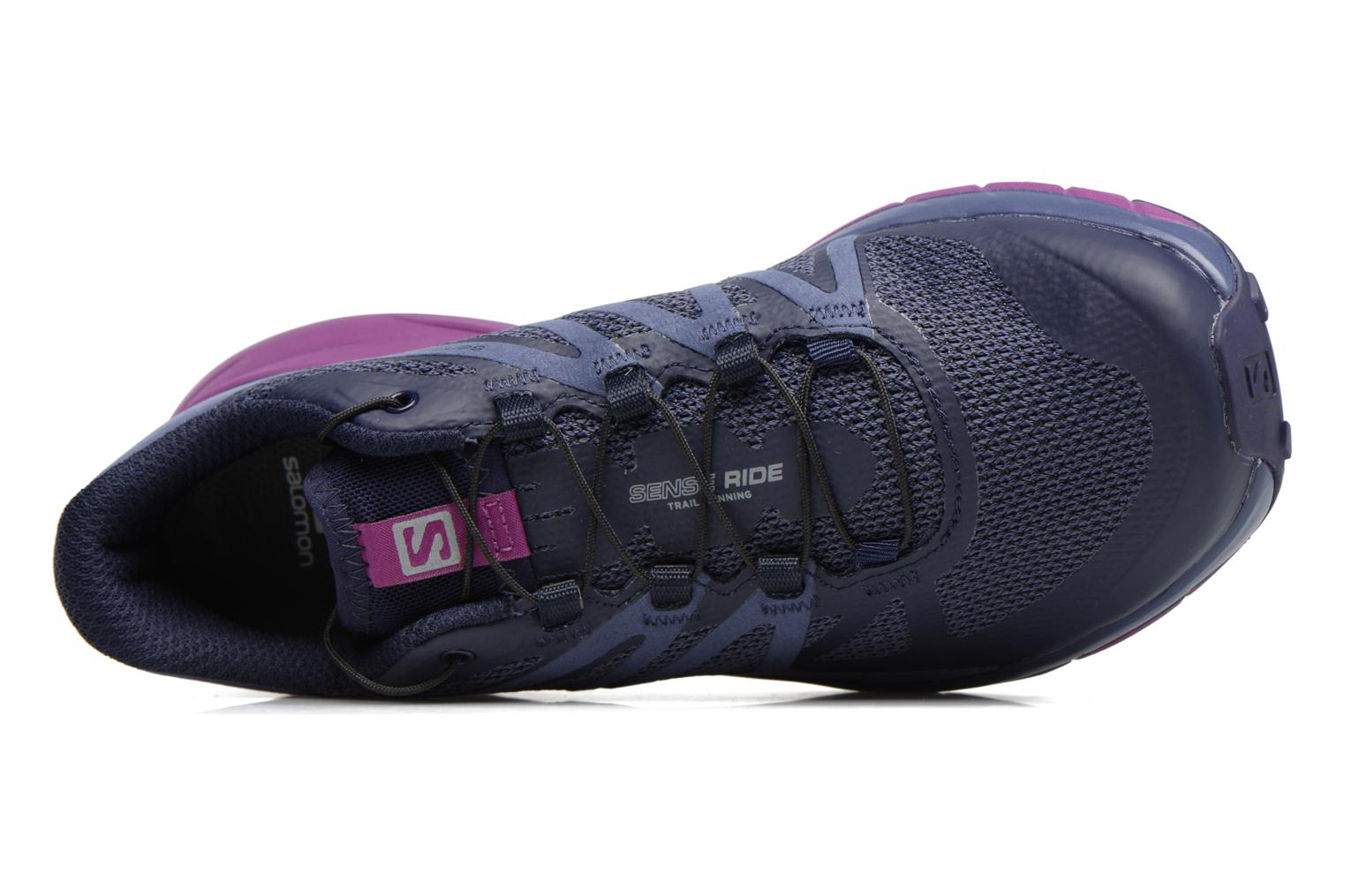 Sportschoenen Salomon Sense Ride W Blauw links