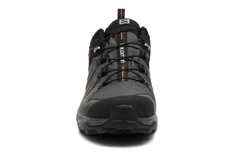Chaussures de sport Salomon X Ultra 3 Gtx W Noir vue portées chaussures