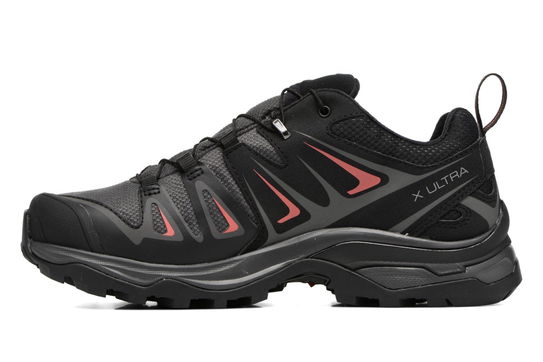 Chaussures de sport Salomon X Ultra 3 Gtx W Noir vue face