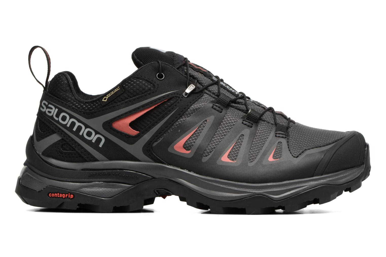 Chaussures de sport Salomon X Ultra 3 Gtx W Noir vue derrière