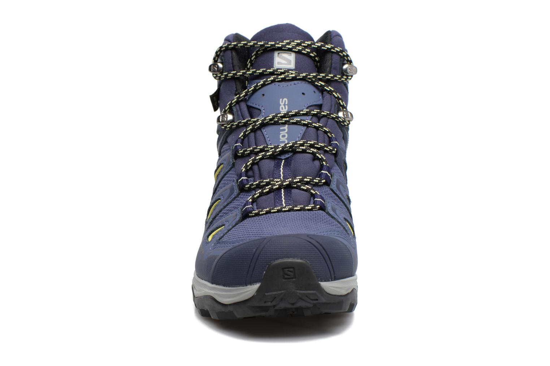 Zapatillas de deporte Salomon X Ultra 3 Mid Gtx W Azul vista del modelo