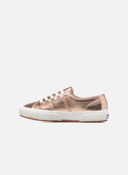 Sneaker Superga 2750 Cotmetu gold/bronze ansicht von vorne