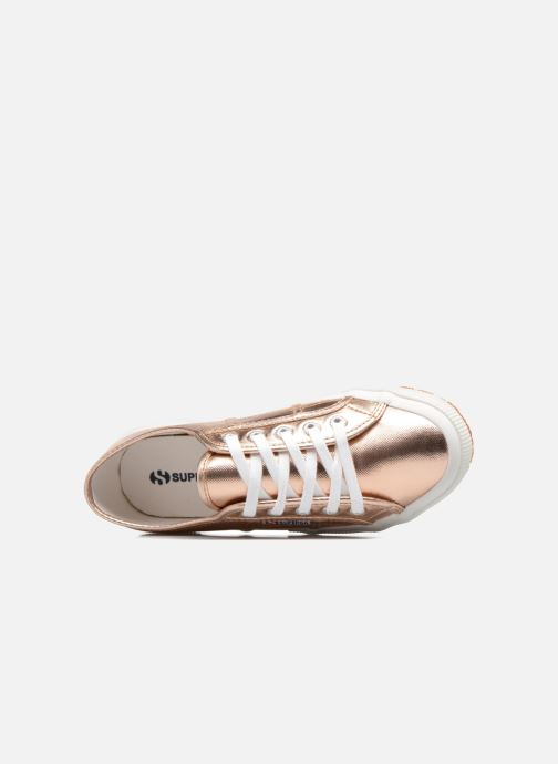 Sneakers Superga 2750 Cotmetu Goud en brons links