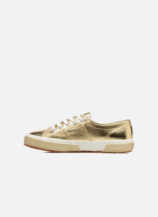 Sneakers Superga 2750 Cotmetu Goud en brons voorkant