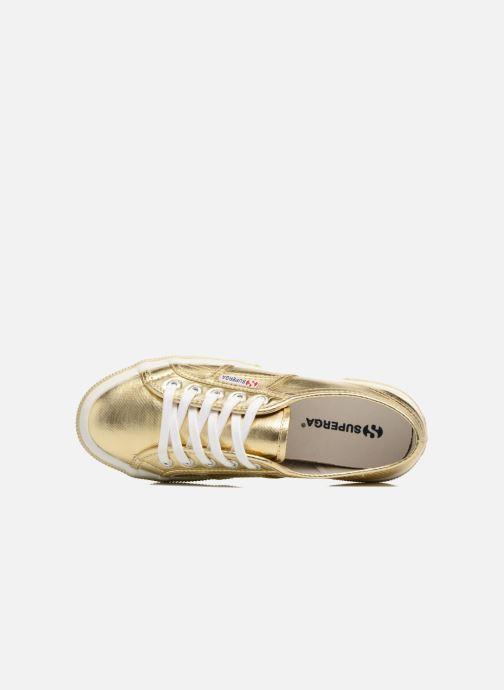 Sneakers Superga 2750 Cotmetu Goud en brons links