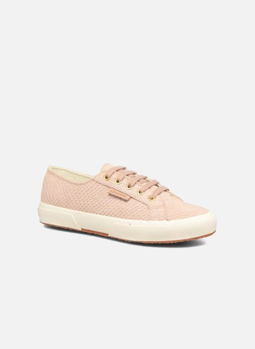 Trainers Superga 2750 Anaconda W Pink detailed view/ Pair view