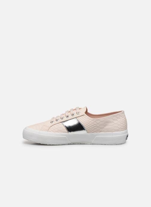 Sneakers Superga 2750 Snake W Roze voorkant