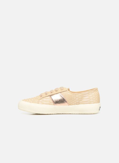 Baskets Superga 2750 Snake W Beige vue face