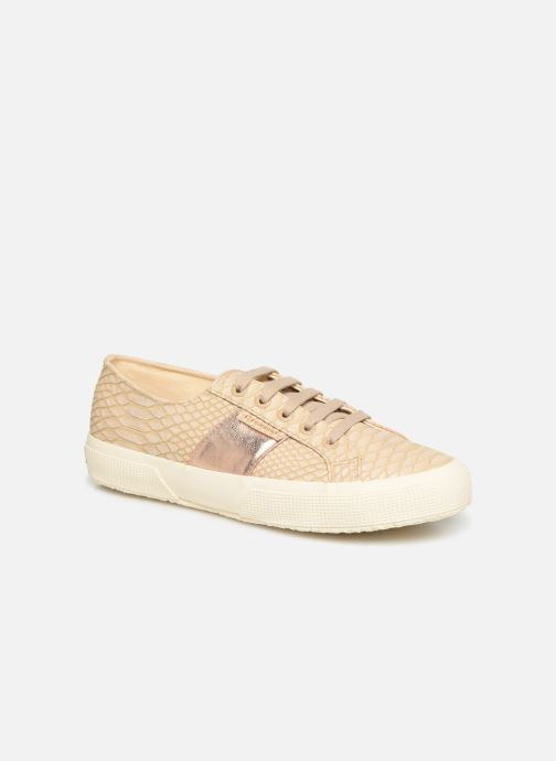 Sneakers Superga 2750 Snake W Beige detail