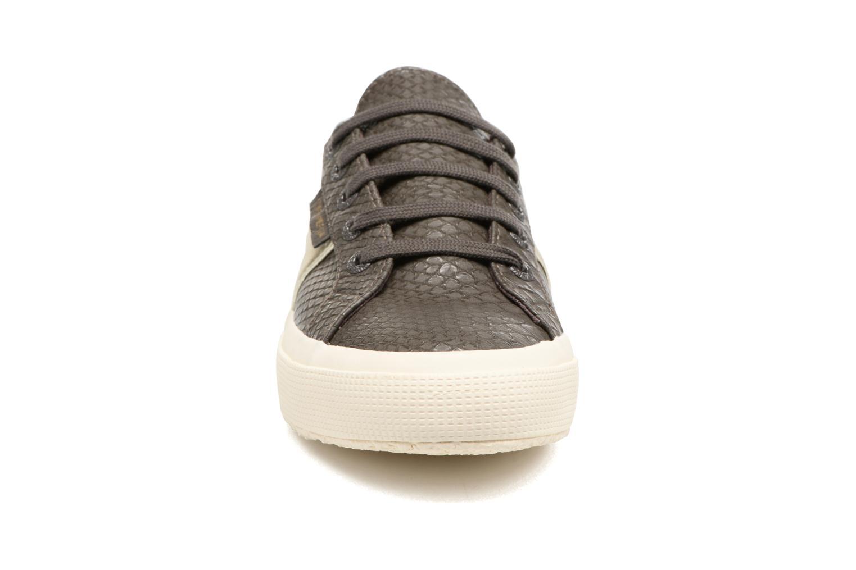 Superga 2750 Snake en W (Marron) - Baskets en Snake Más cómodo Chaussures femme pas cher homme et femme 8113a5