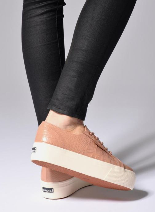 Sneakers Superga 2790 FGLWembcocco W Rosa immagine dal basso