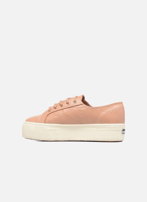 Baskets Superga 2790 FGLWembcocco W Rose vue face