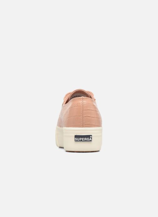 Baskets Superga 2790 FGLWembcocco W Rose vue droite