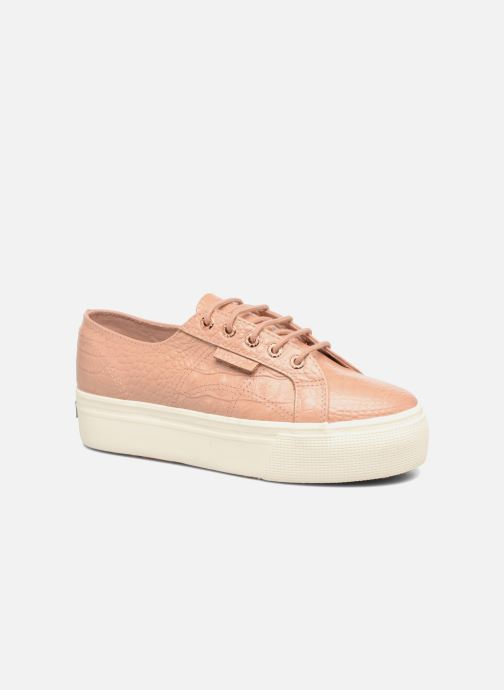 Baskets Superga 2790 FGLWembcocco W Rose vue détail/paire