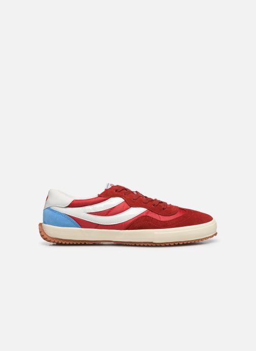 Sneaker Superga 2832 Nylu rot ansicht von hinten