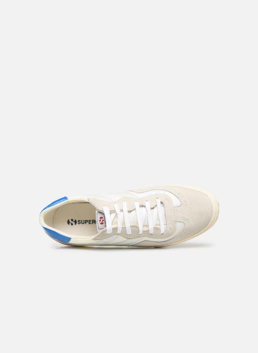 Sneaker Superga 2832 Nylu weiß ansicht von links