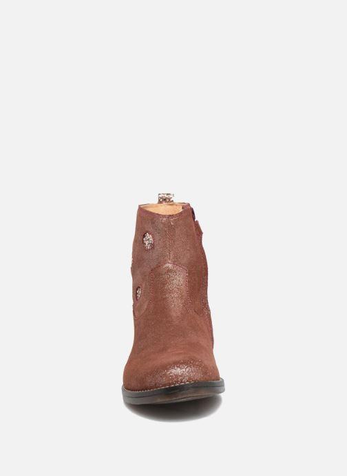 Bottines et boots Minibel Nour Rose vue portées chaussures
