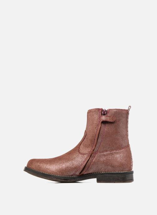 Ankle boots Minibel Nour Pink front view