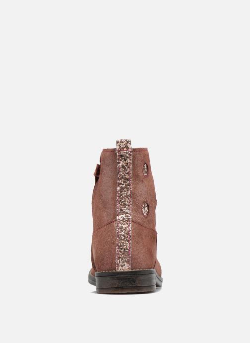 Ankle boots Minibel Nour Pink view from the right