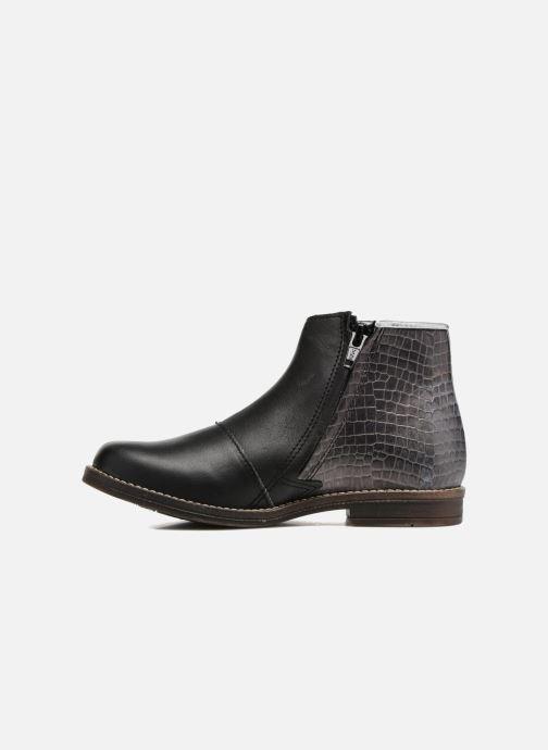 Bottines et boots Minibel Nubian Noir vue face