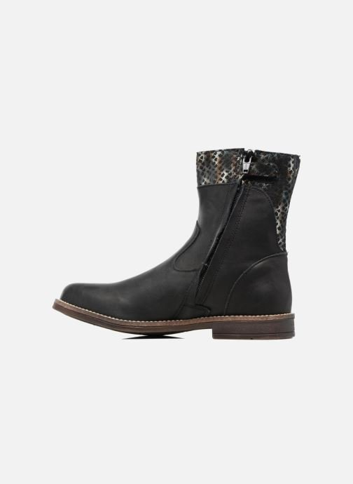 Ankle boots Minibel Nolwen Black front view