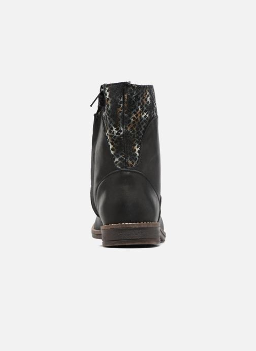 Ankle boots Minibel Nolwen Black view from the right