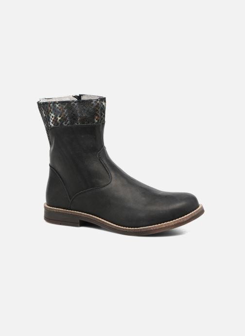 Ankle boots Minibel Nolwen Black detailed view/ Pair view