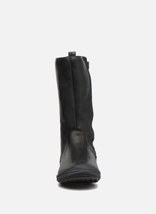 Bottes Minibel Nina Noir vue portées chaussures