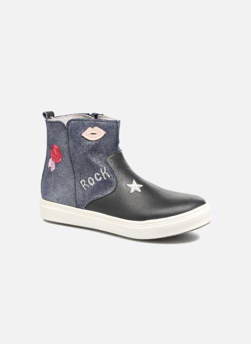 Boots en enkellaarsjes Minibel Nancy Blauw detail