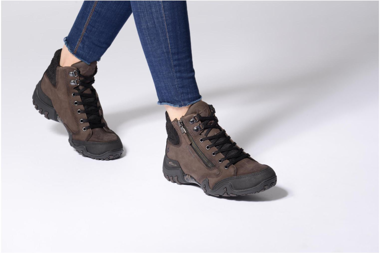 Chaussures de sport Allrounder by Mephisto Faida Tex Marron vue bas / vue portée sac