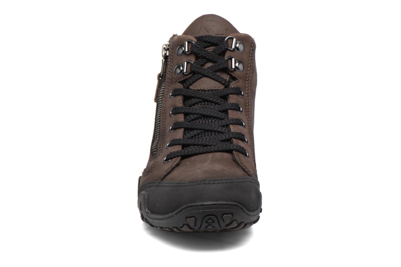 Chaussures de sport Allrounder by Mephisto Faida Tex Marron vue portées chaussures