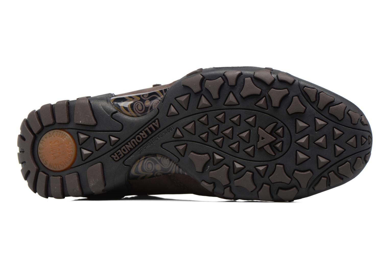 Chaussures de sport Allrounder by Mephisto Faida Tex Marron vue haut