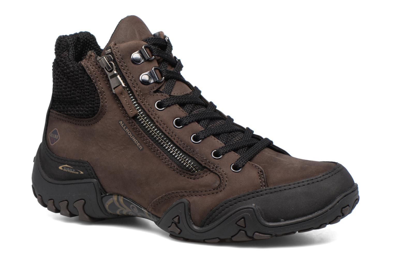 Chaussures de sport Allrounder by Mephisto Faida Tex Marron vue détail/paire