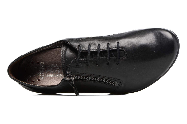 Chaussures à lacets Mephisto Fatima Noir vue gauche