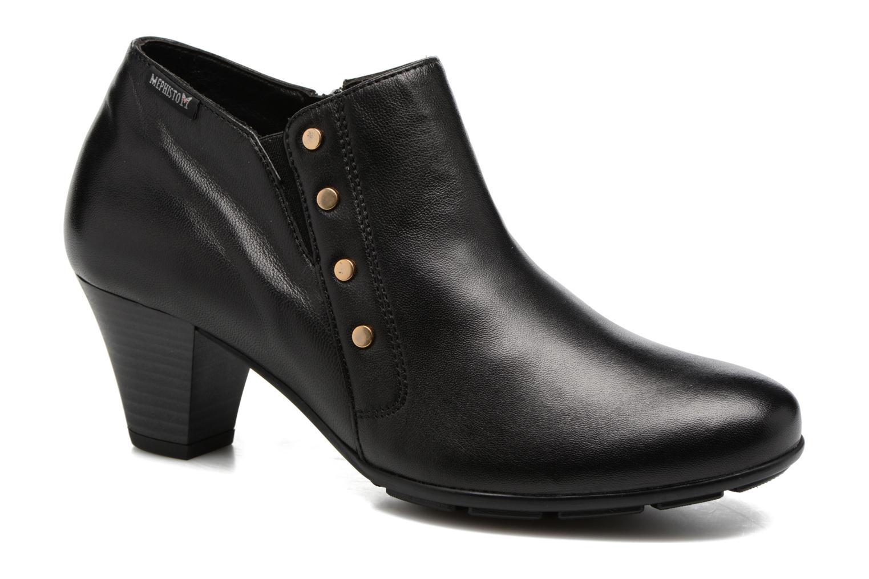 Bottines et boots Mephisto Bianka Noir vue détail/paire