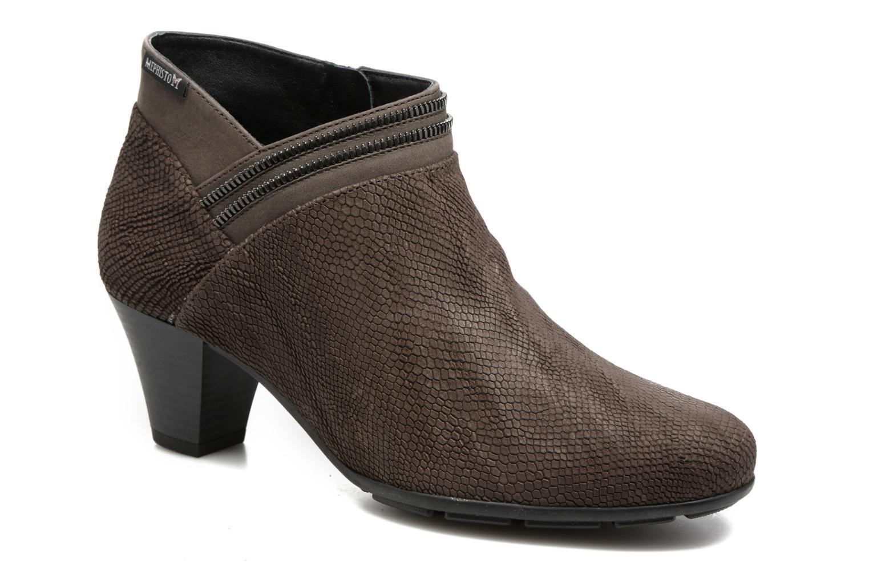 Bottines et boots Mephisto Britie Gris vue détail/paire