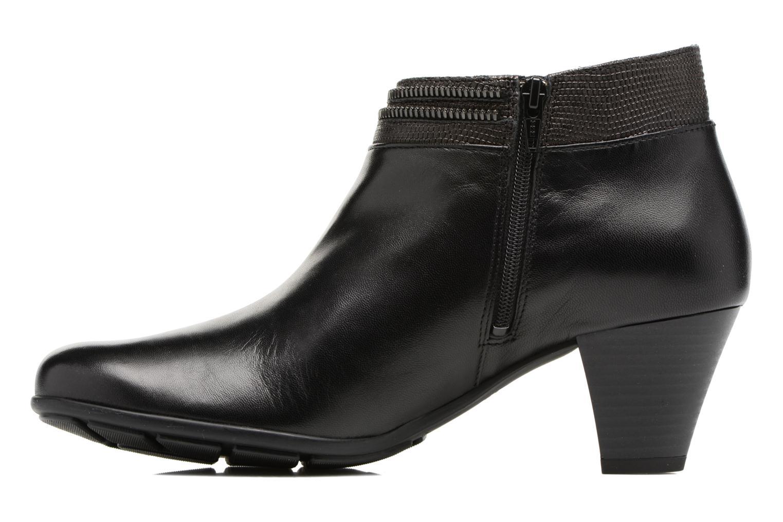 Bottines et boots Mephisto Britie Noir vue face