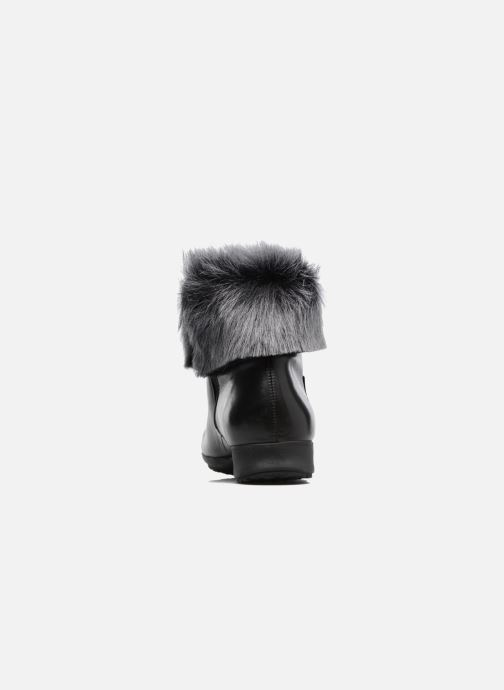 Ankle boots Mephisto Fiducia Winter Black view from the right