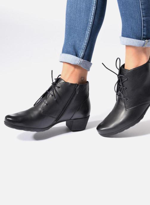 Bottines et boots Mephisto Isabella Noir vue bas / vue portée sac