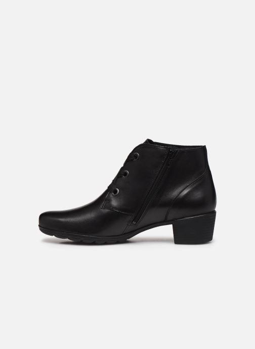 Bottines et boots Mephisto Isabella Noir vue face