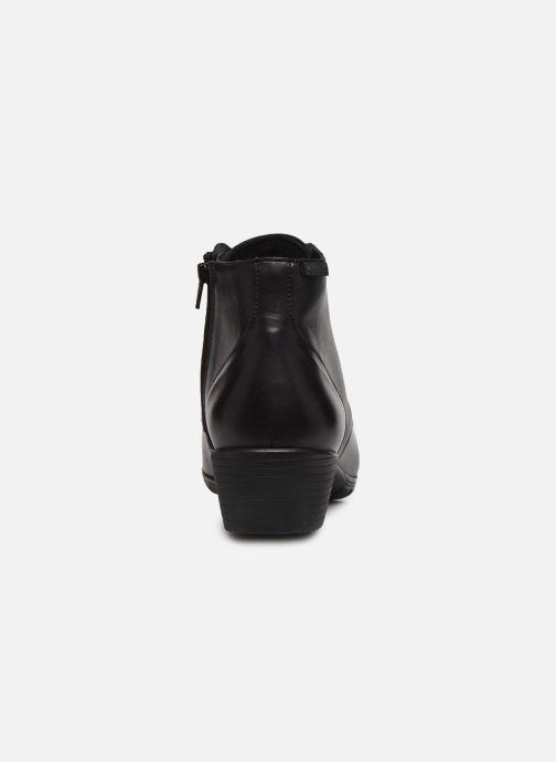 Bottines et boots Mephisto Isabella Noir vue droite
