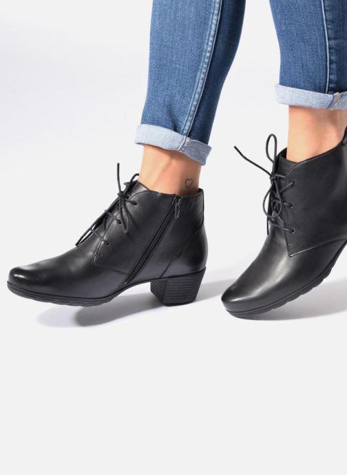 Bottines et boots Mephisto Isabella Marron vue bas / vue portée sac