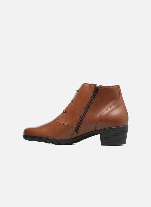 Bottines et boots Mephisto Isabella Marron vue face