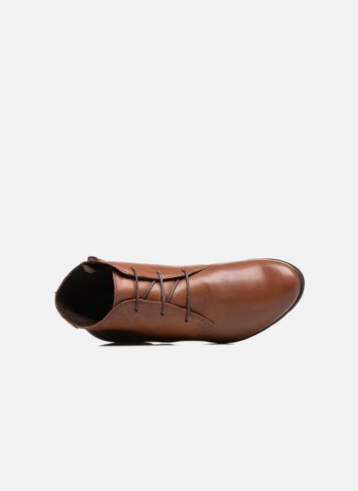 Bottines et boots Mephisto Isabella Marron vue gauche